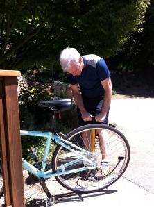 my trusty bike tech