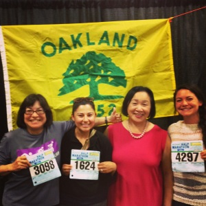 Stopped by to say hi to Oakland Mayor Jean Quan!