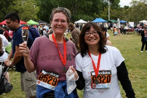 Me and Pubsgal, See Jane Run 2009