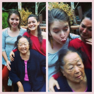 intergenerational beauty and silliness
